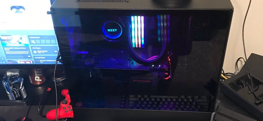 the nzxt goat build