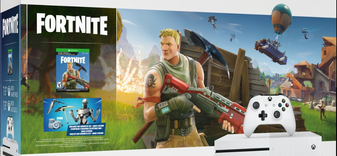 xbox one s fornite bundle