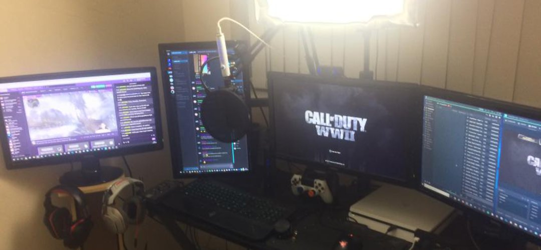 My gaming / twitch setup
