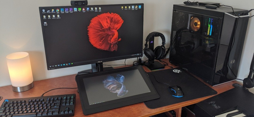 Drawing and Streaming Setup
